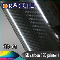 1.52x20m Sticker Roll 5D Carbon Fiber Vinyl Wrap Film