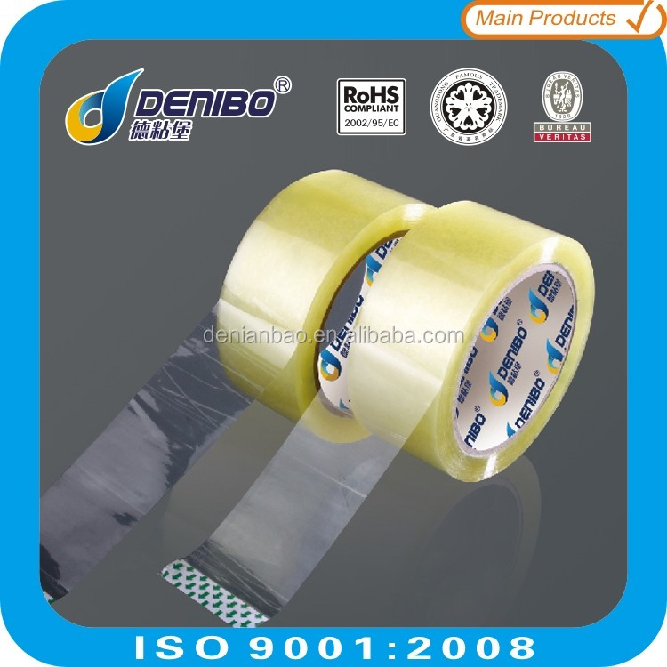 Guangdong Famous Denibo branded brown bopp packing tape