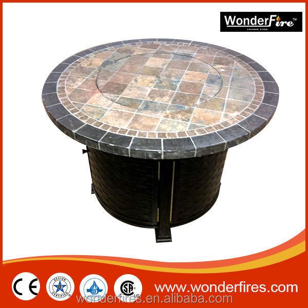 gas feuerstelle tisch marmor runden outdoor propan kamin terrasse m bel feuerstelle produkt id. Black Bedroom Furniture Sets. Home Design Ideas