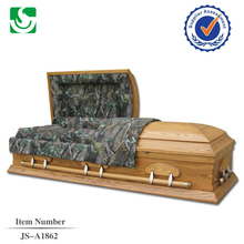 Alibaba funeral supply new design velvet JS-A1862 casket bed