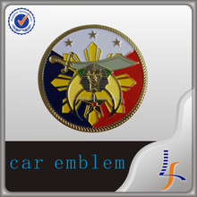 custom metal emblem car emblem badge car logos
