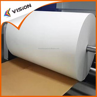 Low sticky sublimation facbirc printing transfer paper