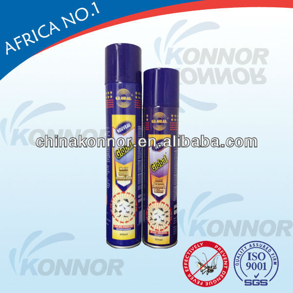 Effectively and Powerful Odorless Insecticide Aerosol Cockroach Insecticide