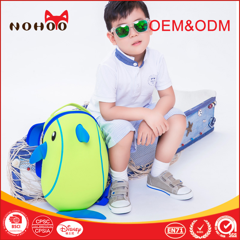 Marine animals Dolphin Shape Bags Kids School Backpack Adventure Time Children backpack hiking