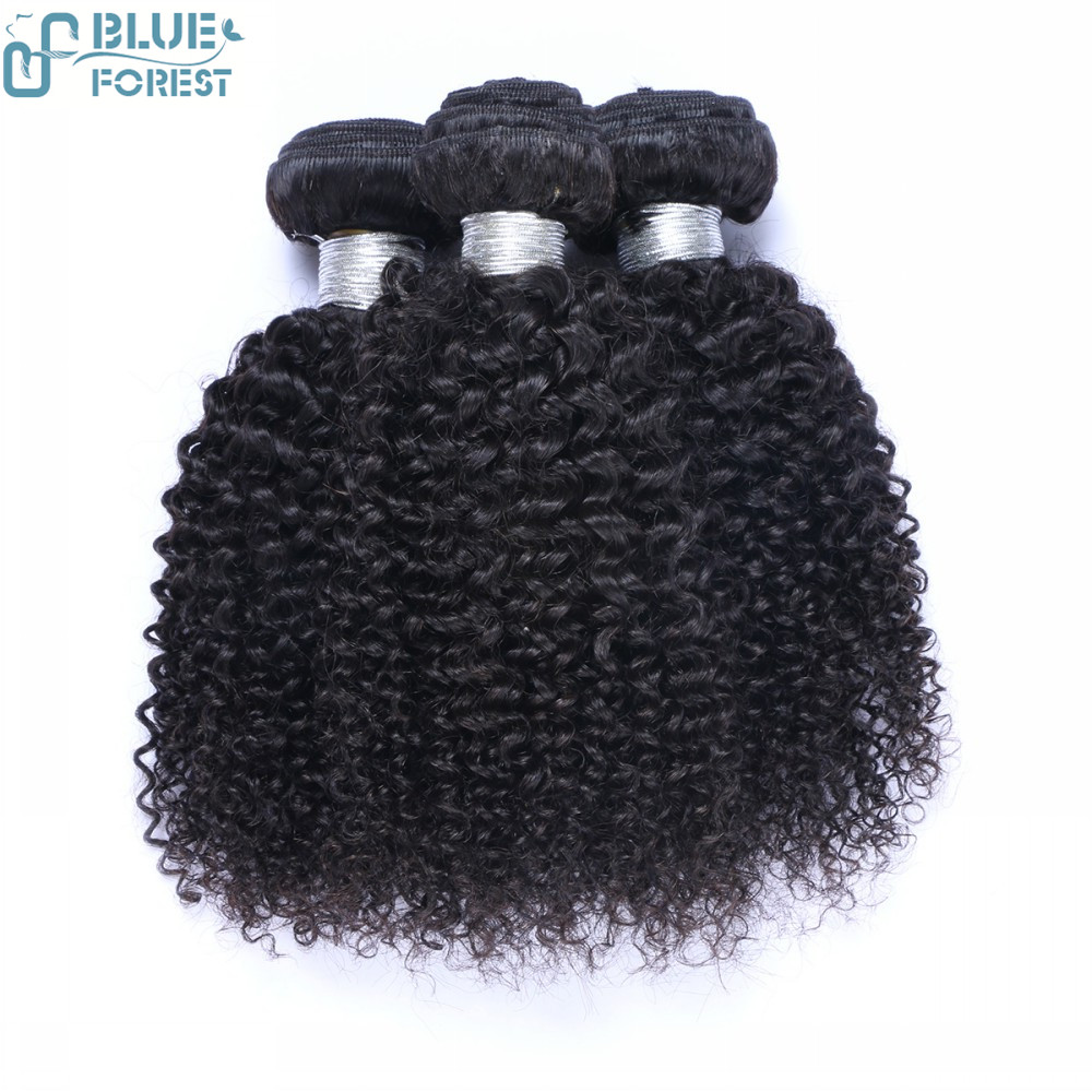 Natural color double drawn jerry curly hair extensions human hair for braiding remy hair weave
