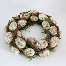 China products wall home decoration simulation easter egg wreath