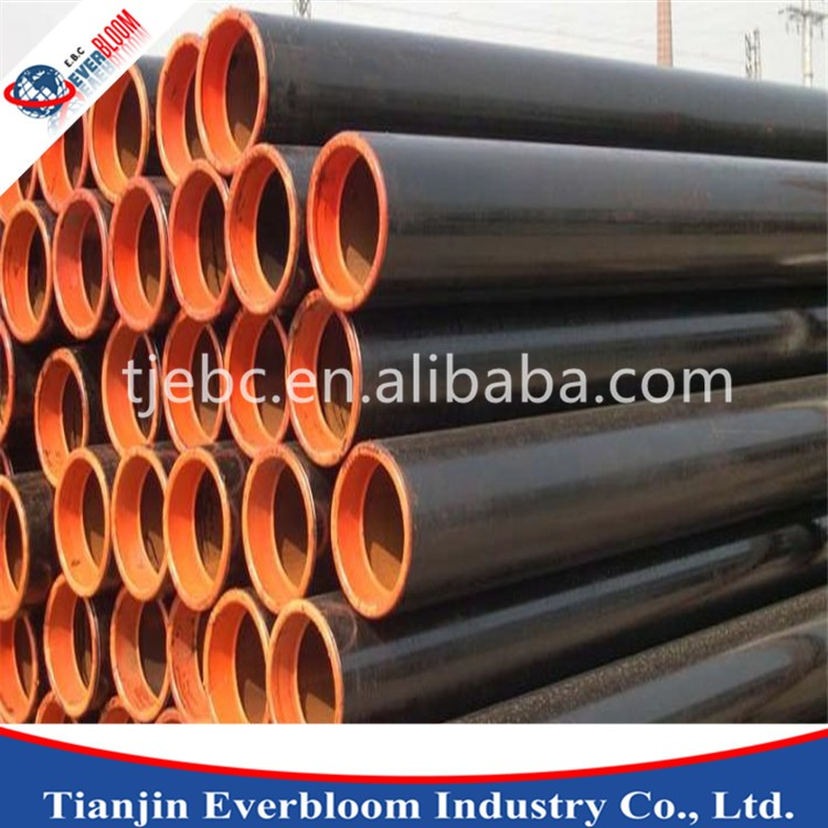 cs seamless pipe sch40 / st35.8 seamless carbon steel pipe / astm a106 asme sa106 seamless pipe