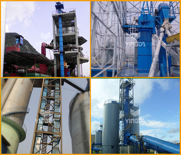 Factory Hot Sale Resistance TD Bucket Elevator for Cement Assembly Line