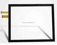 "Driver free 60"" Projected Capacitive Touch Screen/PCAP Capacitive Touch Screen Panel Overlay kit (10 Points Touch ) in Win 7 OS"