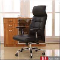 Hot new product high end adjustable ergonomic swivel chair black