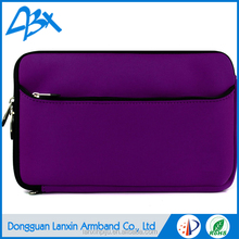 2016 New Stylish Neoprene Sleeve high quality laptop messenger bag purple color for 8.9 inch Tablet