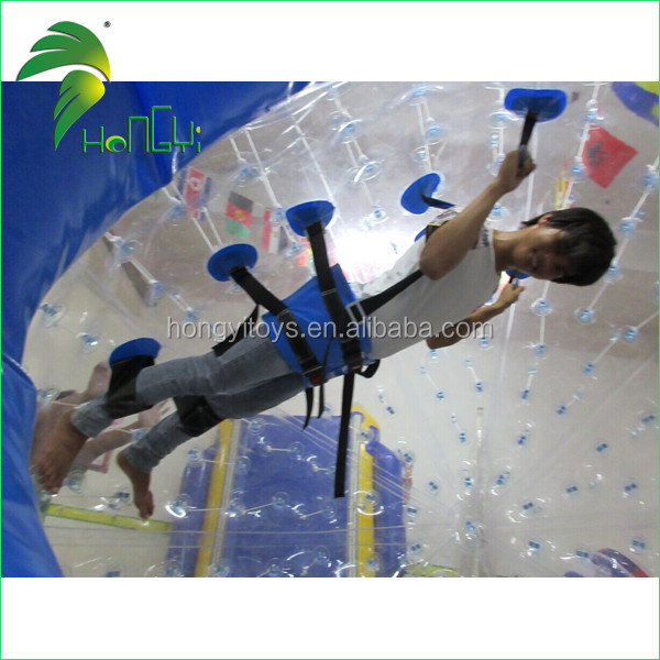 Fashionable Sports Entertainment Inflatable Zorb Ball , Outdoor Zorb Ball On Grassland