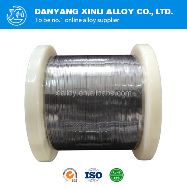High resistant nichrome Ni80Cr20 ribbon heating wire