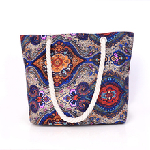 Wholesale printed drawstring top quality shopping custom cotton tote canvas bag