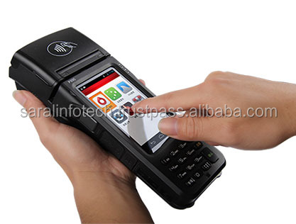 Hot selling !!! Android 4.2 Mobile ETF POS machine for E-commerce Industry Sales