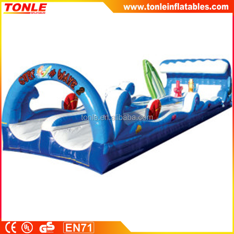 giant inflatable Dunk Tanks Water Slide for sale