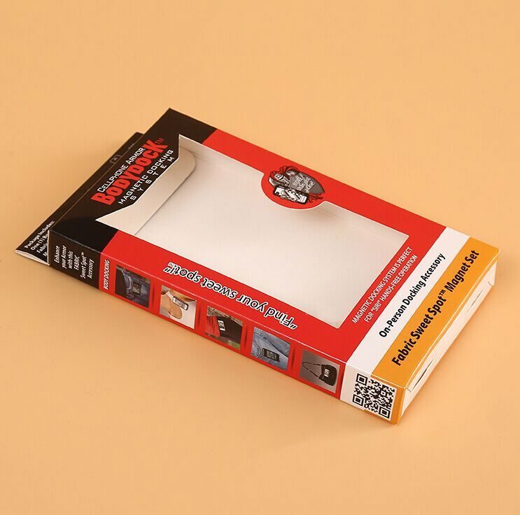 Matte Lamination Kraft Paper box Cheap folding packaging paper box Customized washing powder box packing ---DH21353