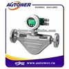 Flow meter with mechanical counter for petrol station