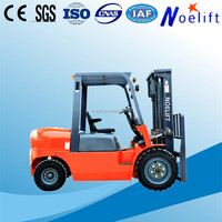 Low Profile Adjustable Hydraulic balanced weight diesel forklift 4T-5T outdoor handling equipment