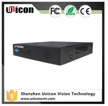 Unicon Vision 4ch nvr poe kit cctv camera with face recognition function