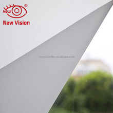 Cheap wholesale glass decorative frosted window film UV blocking heat resistant opaque white building glass film