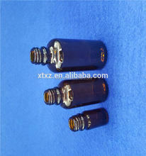 Gold supplier manufacture small and big glass dropper bottle for e cig plastic dropper bottle