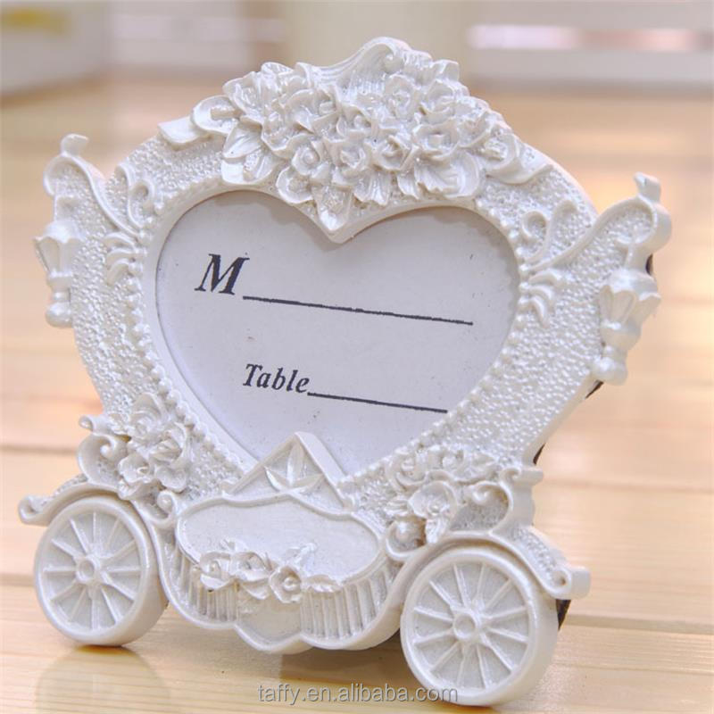 vintage bridal shower wedding decorations supplies pumpkin carriage coach place card table number holder photo frame