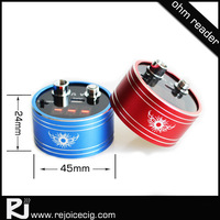 Best price sub ohm 510 ohm reader for atomizer and battery volt ohm meter