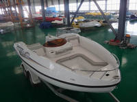 Customized passenger yacht match with Seadoo motorboat