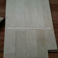 Random Length Canadian Maple Solid Wood Flooring for Basketball Court