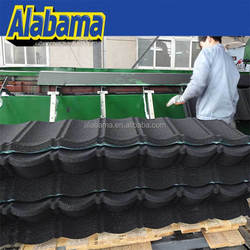 Easy to be transported and installed high quality sand coated metal roofing tiles, types of roof tiles, hot sale tile