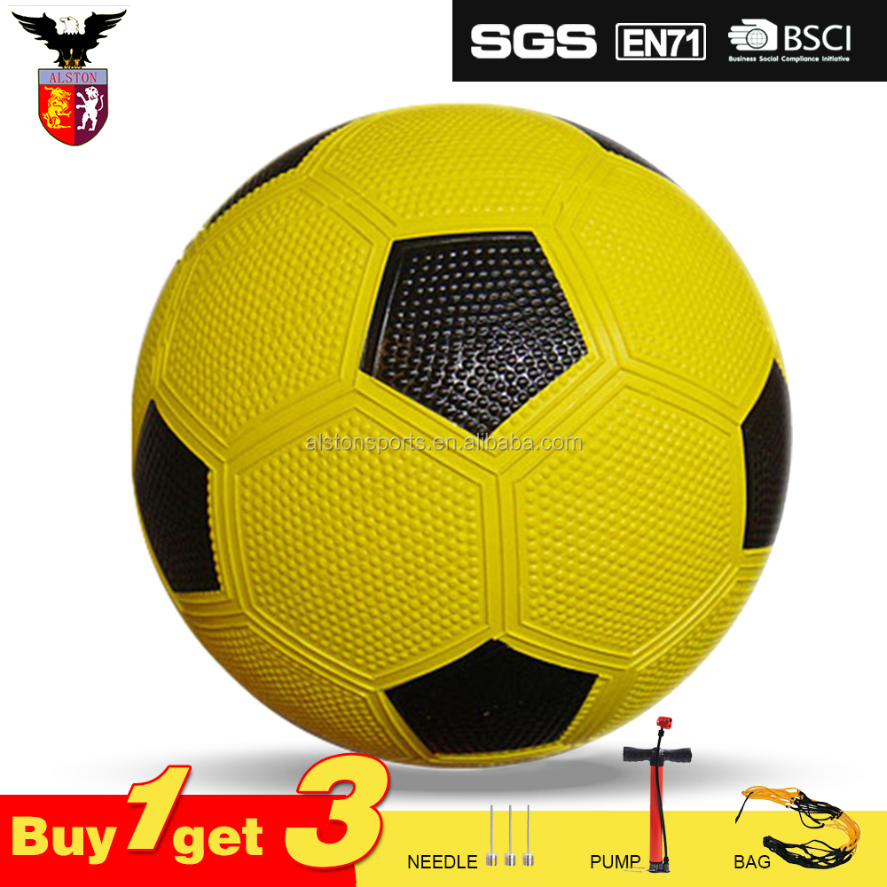 Hot Sell colorful Rubber Soccer Ball Size 5 Rubber Football Wholesale