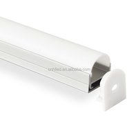 China supplier led tape diffusion channel aluminum extrusion profile for led strip light