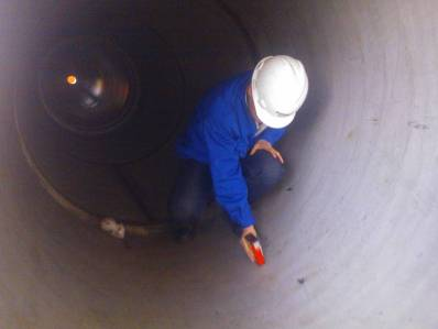 STRIPPER TOWER Inspection / Pressure Vessel Inspection