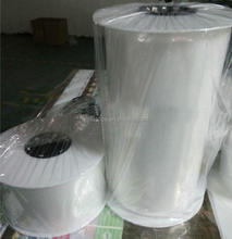 Plastic hdpe ldpe pre-open auto roll bags customized recyclable ldpe clear bag