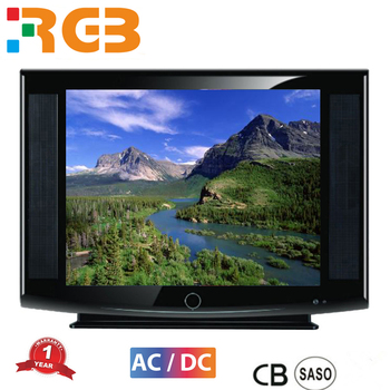 high quanlity 21 inch CRT Flat Screen Television/mini flat screen TV/12 dc Pure and Normal Flat