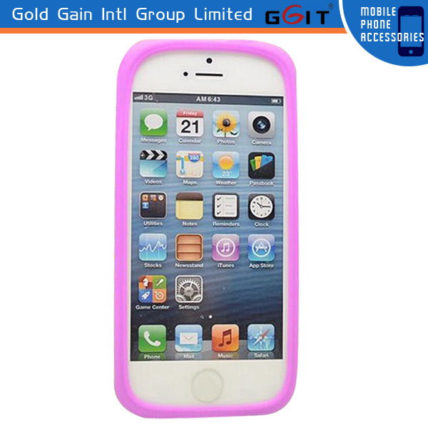 bracelets design silicon bumper case for iPhone 6 bumper case, for iPhone 6 silicon case