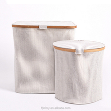 Beautiful Pattern Hamper Foldable Fold Laundry Basket