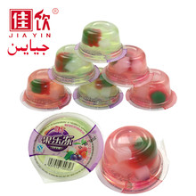 Love gift 80g 10pcs/bag nata de coco fruit jelly cup