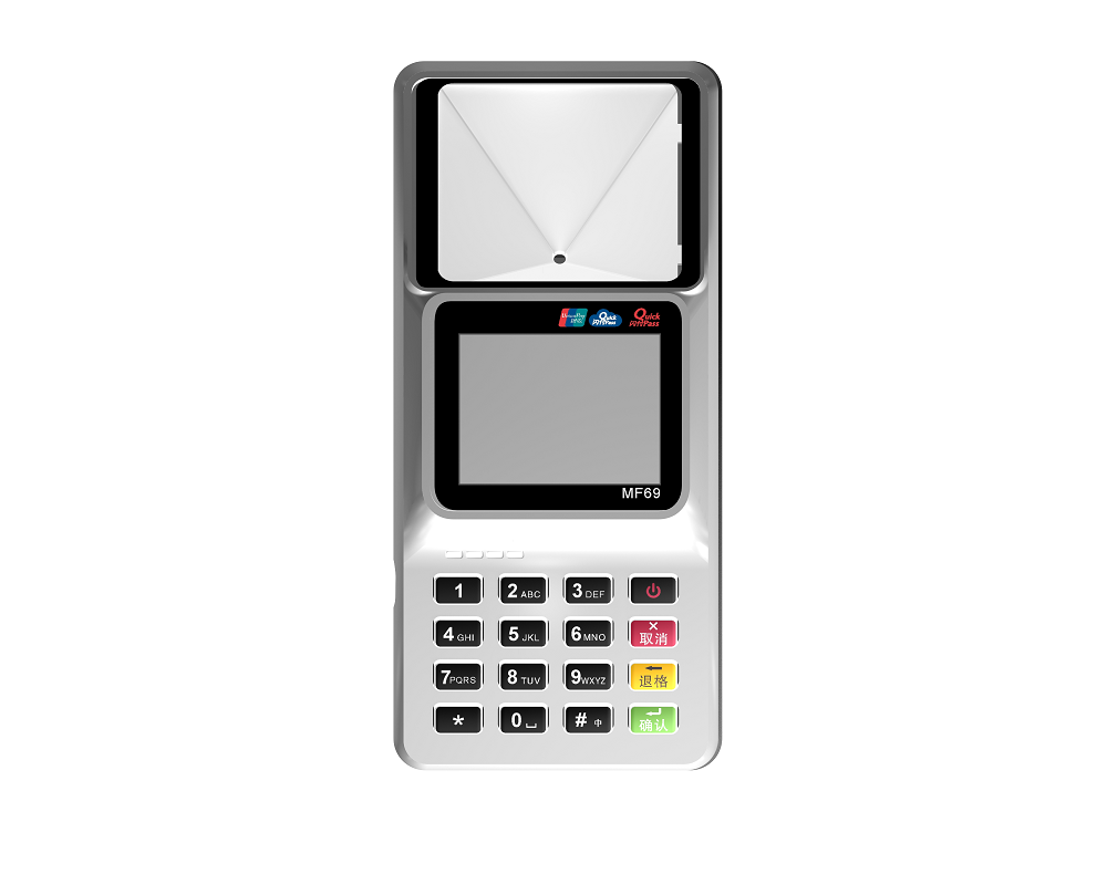 Wireless Handheld QR code POS Terminal with NFC USB GPRS WIFI