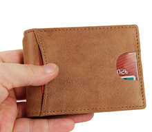 New desgin RFID genuine leather classical short <strong>wallet</strong>