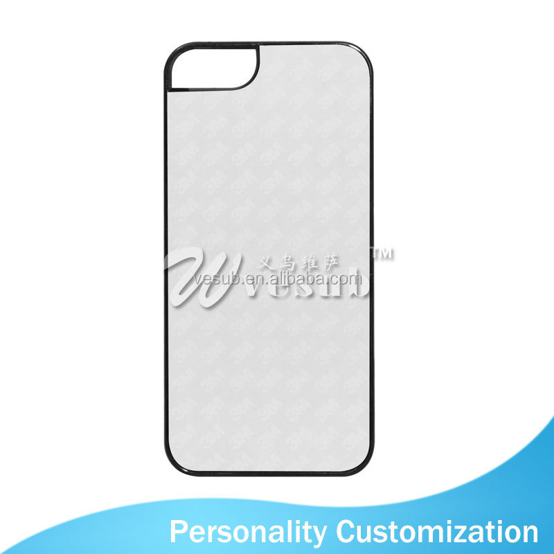Sublimation Coated DIY 2D new product gold phone case for iPhone5/5s