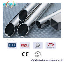 Mirror polished sanitary stainless steel welded pipe