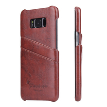 samples genuine leather back cover for samsung s8 cell phone case