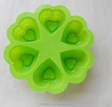Heart Shape Silicone Mold Cake Decorating Tools Cupcake Silicone Mold