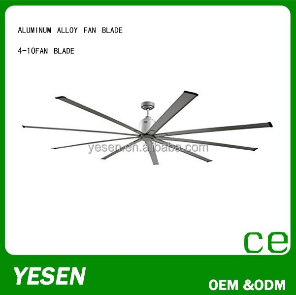 china supplier industrial ceiling fan mist fan