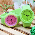 Unisex quartz movt jelly silicone watch