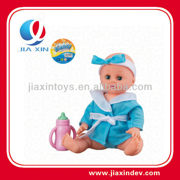 lovely boy 13 inch small plastic baby doll with IC