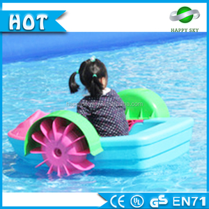 2016 new style! Boats for sale,Kids hand paddle boat,Used pedal water boats for child