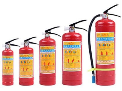 portable empty/co2/dry power fire extinguisher